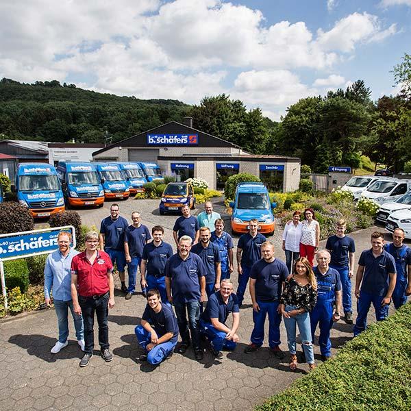 Team der b.schäfers GmbH
